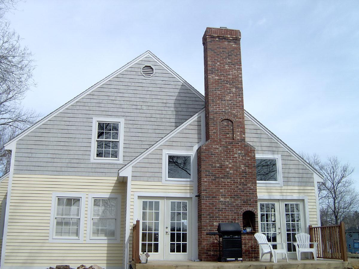 Maine mason contractor for Stone chimneys