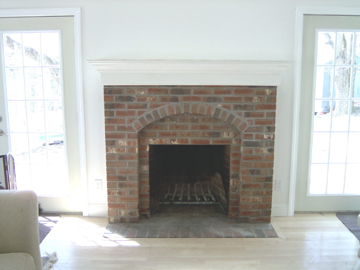 chimney inside home design